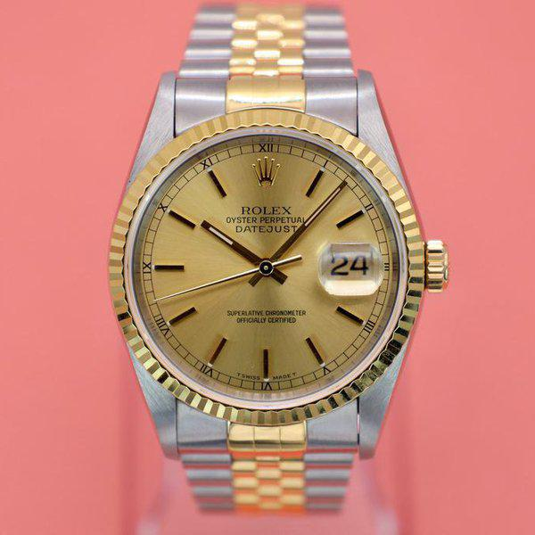 FS: 1995 Rolex Datejust Ref. 16233| Champagne Dial | Papers 1