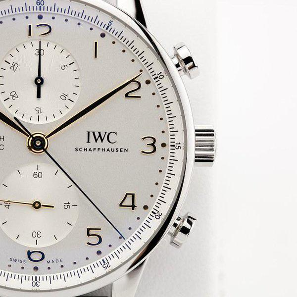 fsot - IWC Portuguese Chronograph - NEW In-House Movement - IW371604 ( new / 2020 ) 4