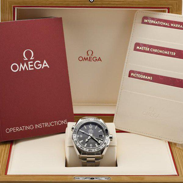 fsot - Omega Planet Ocean GMT - 8906 - 43.5mm - 215.30.44.22.01.001 ( new / 2020 ) 10