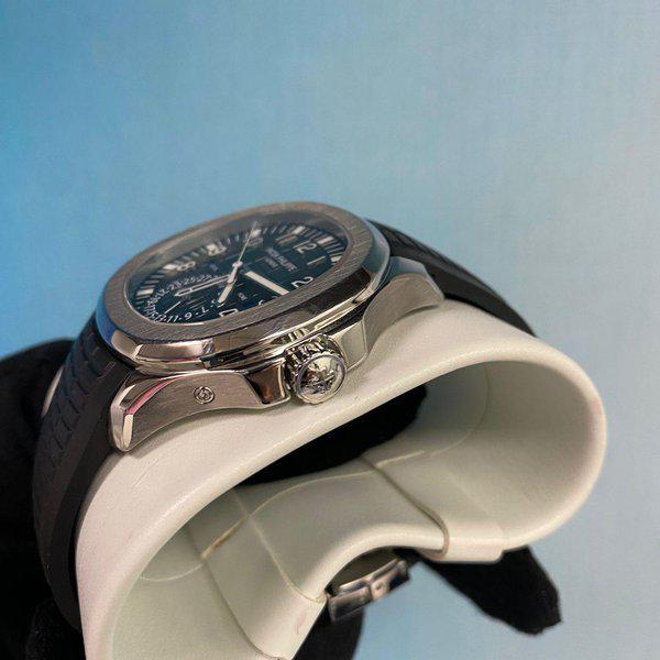 Patek Philippe 5164A Aquanaut Stainless Steel Travel Time 3