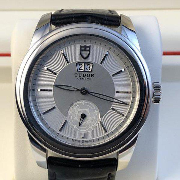 FS: Excellent Tudor Glamour Double Date M57000 Silver Dial, Boxes and Papers. Price Reduction 2