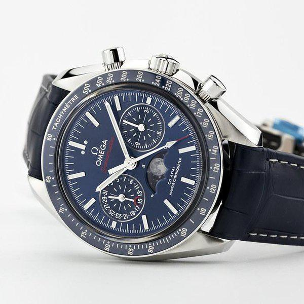 fsot - Omega Speedmaster - Blue Moonphase - 44.25mm - Master Co-Axial ( new / 2019 ) 1