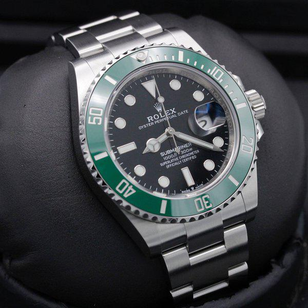"""FSOT: Rolex Submariner 41 Date - 126610lv - """"Cermit"""" - Stainless Steel - 41mm - New 10"""