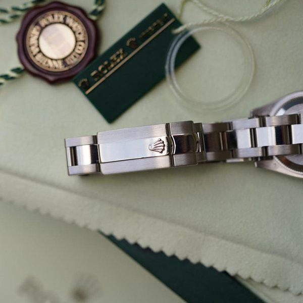FS: Rolex Datejust Oyster 179369 White Gold with MOP Diamond dial and Diamond bezel 2
