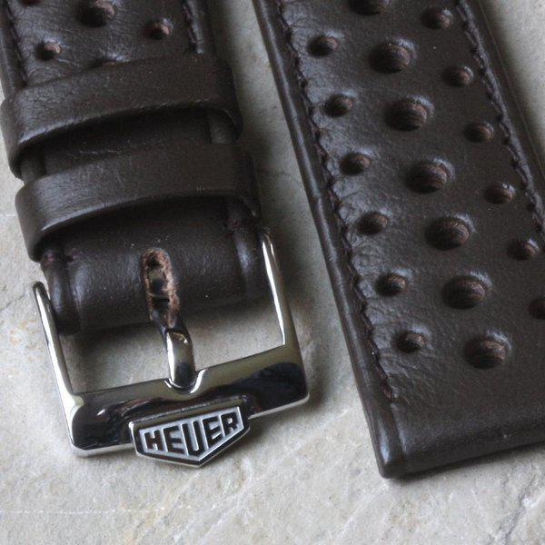 Vintage racing bands as originally supplied on many Heuers 8