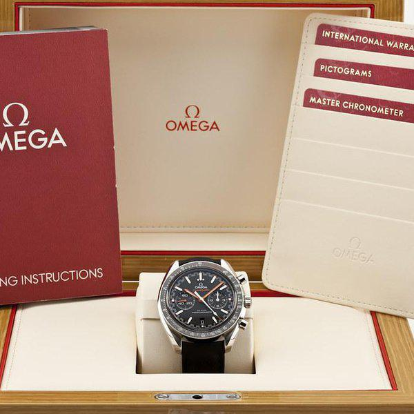 fsot - Omega Speedmaster - Racing Master Co-Axial 44.25mm - Orange ( new / 2020 ) 10