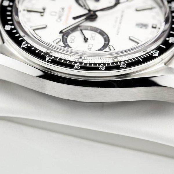 fsot - Omega Speedmaster - Racing Master Co-Axial 44.25mm - White Dial ( new / 2020 ) 8