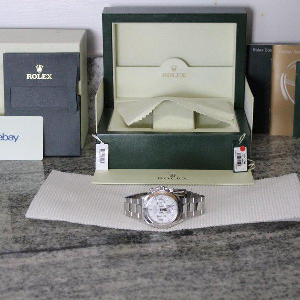 """FS: Rolex 116520 White Daytona """"APH Error Dial"""" With Box and Papers! APH DIAL LOOK!!! 2"""