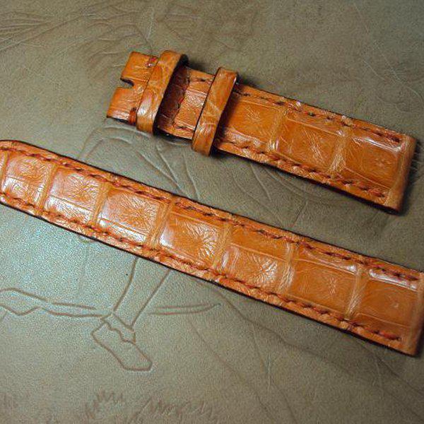 FS:Some custom straps Svw420~429 AP ROO Safari croco strap,CHOPARD,Bell & Ross BR-02,Agnes b. Cheergiant straps 8