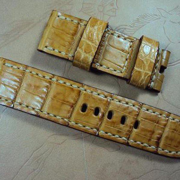 FS: Panerai custom straps A480~A494 include crocodile straps,olive green & dark gray straps. Cheergiant straps 26