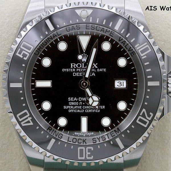 FSOT: Rolex 116660 Deep Sea SeaDweller DSSD Black Dial Box & Papers 2