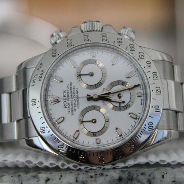 """FS: Rolex 116520 White Daytona """"APH Error Dial"""" With Box and Papers! APH DIAL LOOK!!! 1"""