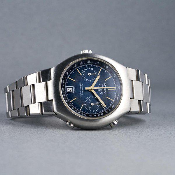 FS: 1976 Heuer Daytona Ref: 110.203B Blue Dial 10