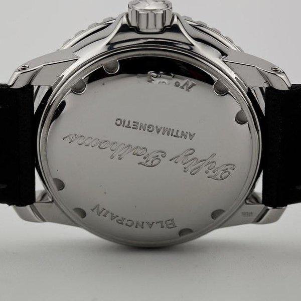 fsot - Blancpain Fifty Fathoms - Black - 45mm 5015-1130-52A ( complete ) 8