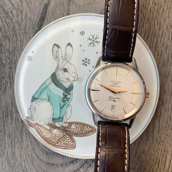 [WTS] Longines Flagship Heritage Clean as Snow 1