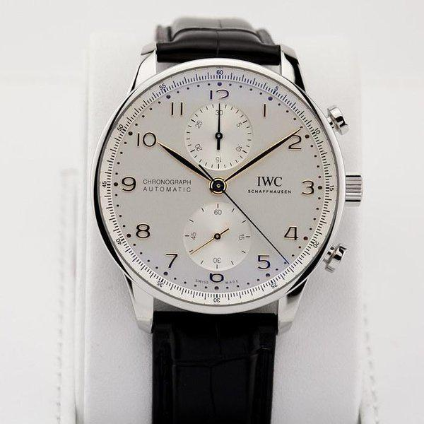 fsot - IWC Portuguese Chronograph - NEW In-House Movement - IW371604 ( new / 2020 ) 3