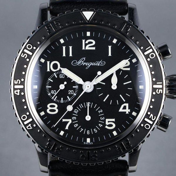 FS: 2010 Breguet Type XX Aeronavale Ref: 3803ST with Box and Papers 1