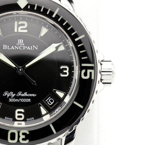 fsot - Blancpain Fifty Fathoms - Black - 45mm 5015-1130-52A ( complete ) 4