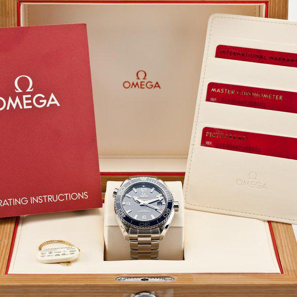 fsot - Omega Planet Ocean - 8900 - Blue - 43.5mm - 215.30.44.21.03.001 ( new / 2020 ) 12