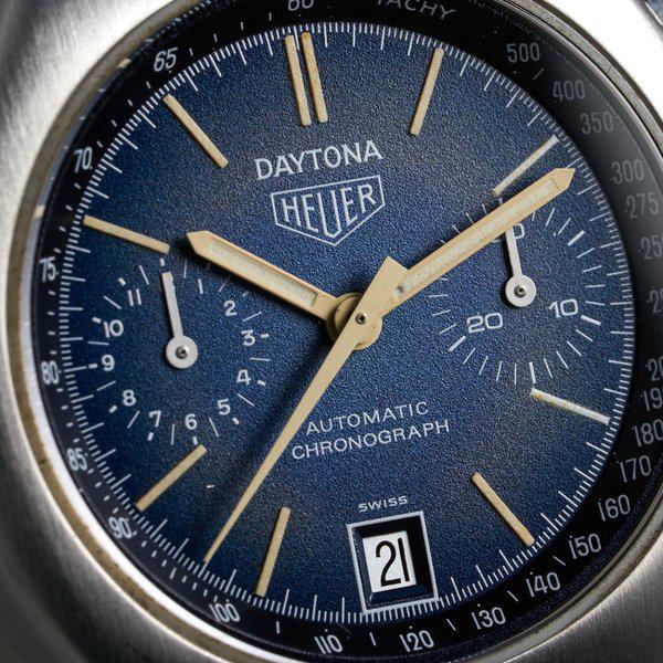 FS: 1976 Heuer Daytona Ref: 110.203B Blue Dial 4