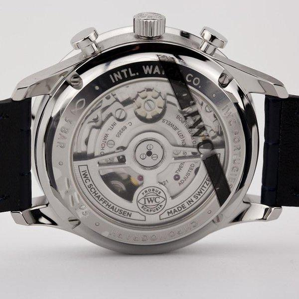 fsot - IWC Portuguese Chronograph - NEW In-House Movement - IW371605 ( new / 2020 ) 11