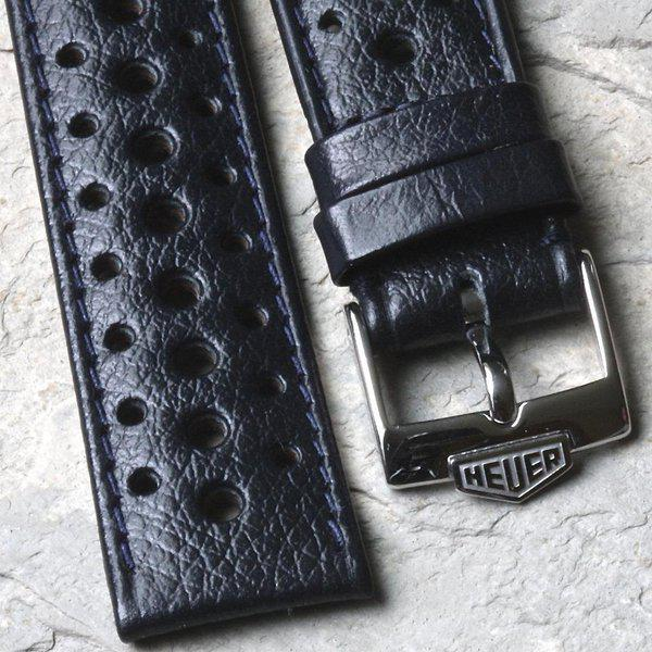 Vintage racing bands as originally supplied on many Heuers 6