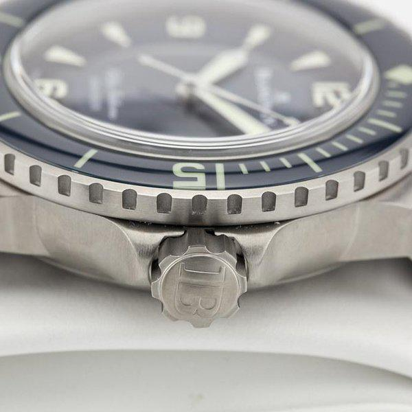 fsot - Blancpain Fifty Fathoms - Blue - Titanium 45mm - 5015-12B40-O52A (new / 2020) 7
