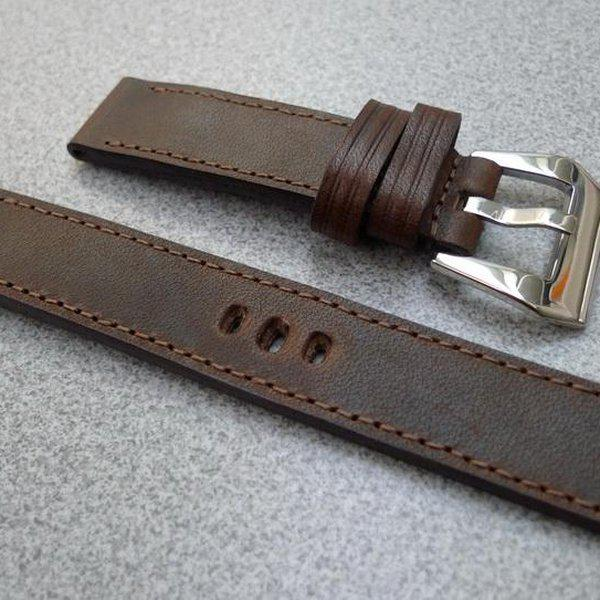 20 mm hand made straps - various lengths 25