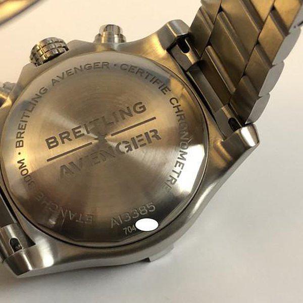 FS: LNIB Breitling A13385 Avenger  II Chonograph 43, Steel, Bracelet, Black Dial, Complete. 16