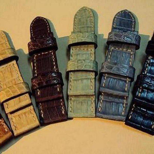 FS: 7 crocodile Panerai straps & some custom ultralength straps Porder801~806 & custom straps Porder601~610. Cheergiant straps     3