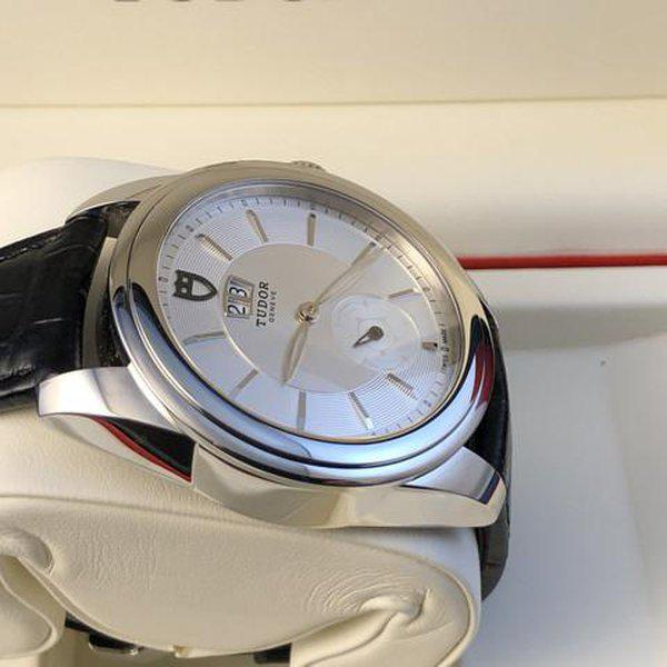 FS: Excellent Tudor Glamour Double Date M57000 Silver Dial, Boxes and Papers. Price Reduction 7