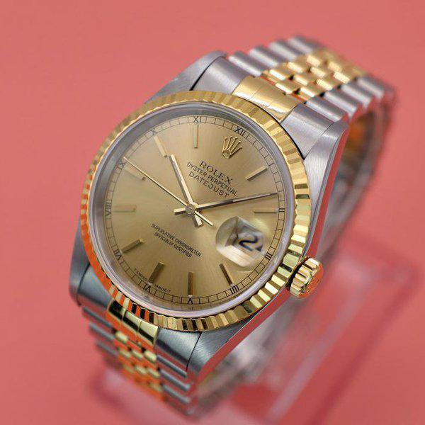 FS: 1995 Rolex Datejust Ref. 16233| Champagne Dial | Papers 4