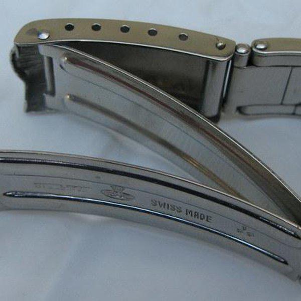 FS: Extra rare Rolex straight-end Rivet bracelet from 1953 - Good for JCK 6036, 6236 etc 12