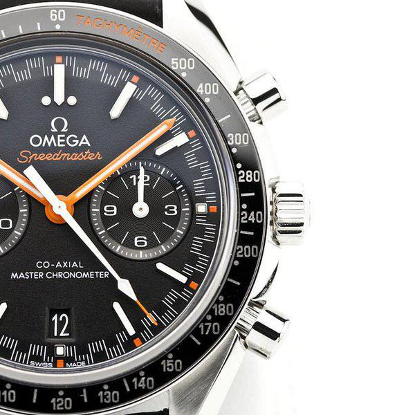 fsot - Omega Speedmaster - Racing Master Co-Axial 44.25mm - Orange ( new / 2020 ) 4
