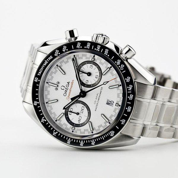fsot - Omega Speedmaster - Racing Master Co-Axial 44.25mm - White Dial ( new / 2020 ) 1