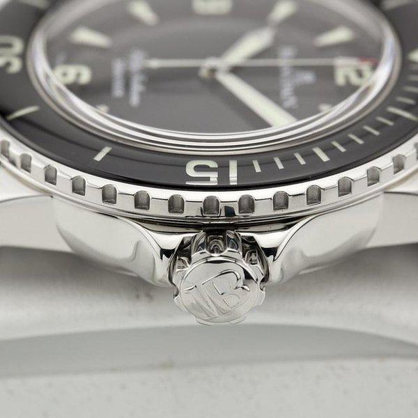 fsot - Blancpain Fifty Fathoms - Black - 45mm 5015-1130-52A ( complete ) 5