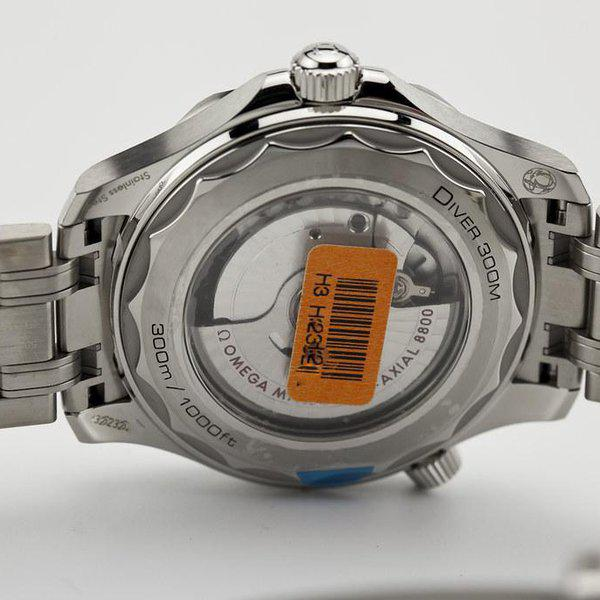 fsot - Omega Seamaster 300 - Blue - Wave Dial - 42mm - Master 8800 ( new / 2020 ) 12