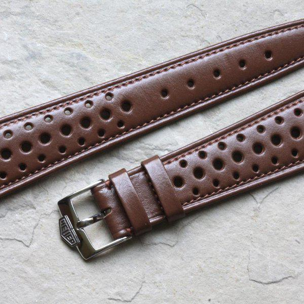 Vintage racing bands as originally supplied on many Heuers 2