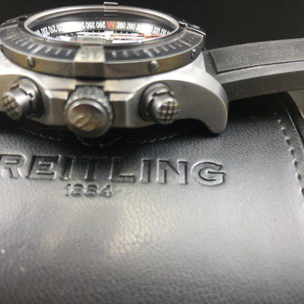 FS: Breitling Avenger Seawolf Chrono Blacksteel REDUCED Limited Edition M73390 - Exce 7