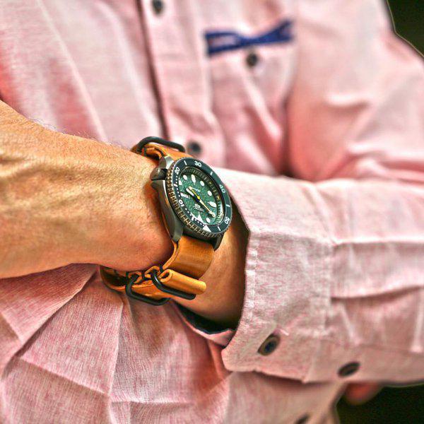 FS: Genuine Horween Shell Cordovan Watch Straps 1