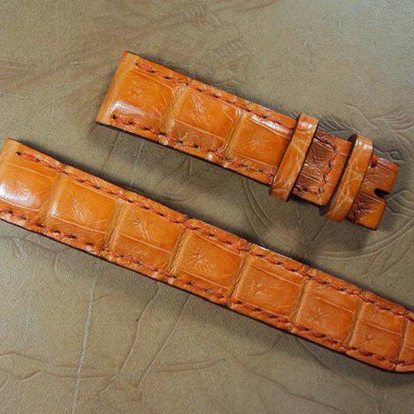 FS:Some custom straps Svw420~429 AP ROO Safari croco strap,CHOPARD,Bell & Ross BR-02,Agnes b. Cheergiant straps 9
