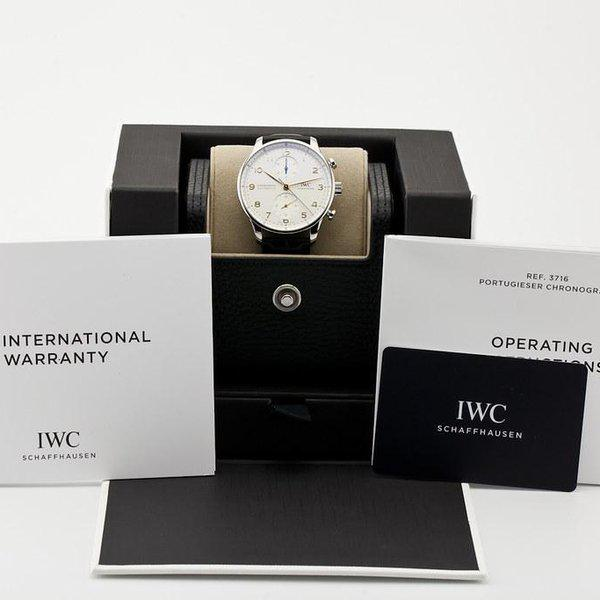 fsot - IWC Portuguese Chronograph - NEW In-House Movement - IW371604 ( new / 2020 ) 12