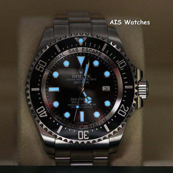 FSOT: Rolex 116660 Deep Sea SeaDweller DSSD Black Dial Box & Papers 17