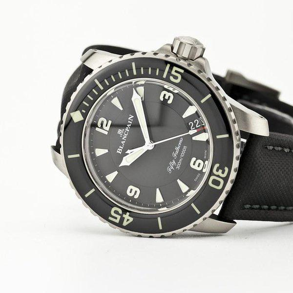 fsot - Blancpain Fifty Fathoms - Black Titanium - 45mm 5015-12B30-B52 ( new / 2020 ) 1