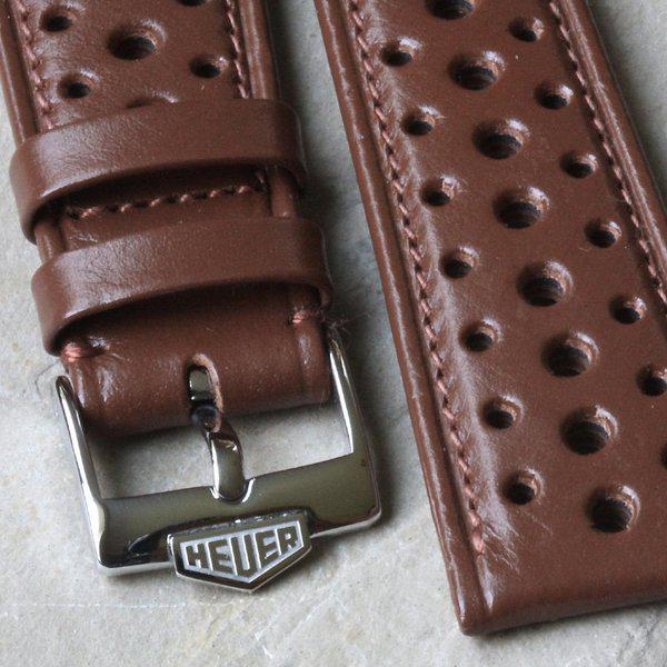 Vintage racing bands as originally supplied on many Heuers 1