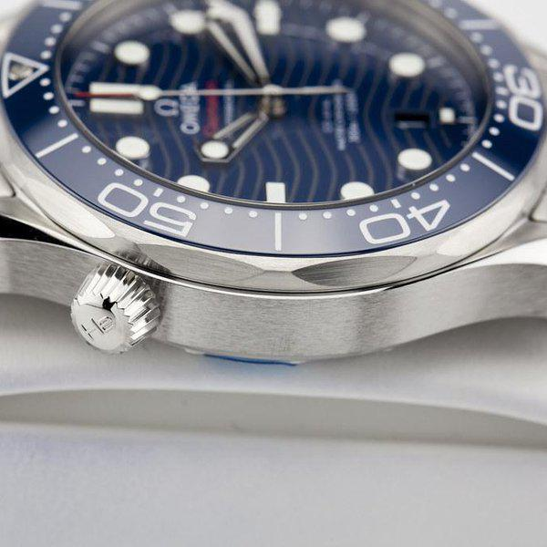 fsot - Omega Seamaster 300 - Blue - Wave Dial - 42mm - Master 8800 ( new / 2020 ) 8