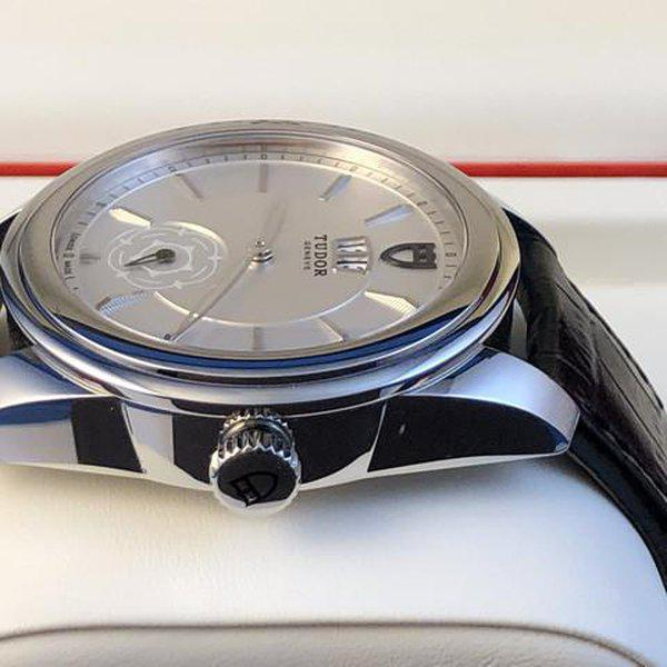 FS: Excellent Tudor Glamour Double Date M57000 Silver Dial, Boxes and Papers. Price Reduction 4